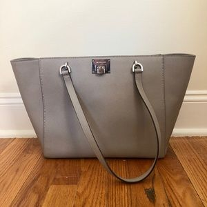Grey Michael Kors Purse